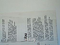 Oz Magazine N ° 4 Avec Oz Feuille N ° 1 Insert. Hapshash Affiche D'or. Martin Sharp
