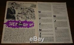Oz Magazine Numéro N ° 2 Mars 1967 Bouchées Shut Up Avec Toad De Whitehall Poster