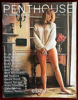 Penthouse Uk Magazine Mars 1965, Vol. 1, N ° 1 True First British Edition