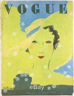 Pierre Mourgue Carl Erickson Menswear Paul Valentin Paris Vogue Mai 1933 Français