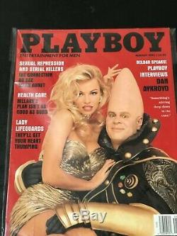 Playboy Août Octobre 1993, La Plupart Des Questions De Valeur Pamela Anderson Jerry Seinfeld