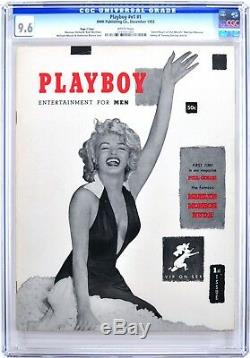 Playboy Décembre 1953 Cgc 9.6 Near Mint + Pages Blanches Page 3 Édition