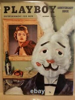 Playboy Décembre 1954 Very Good Condition Free Shipping Etats-unis