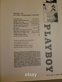 Playboy Juin 1955 Like New Condition Livraison Gratuite États-unis