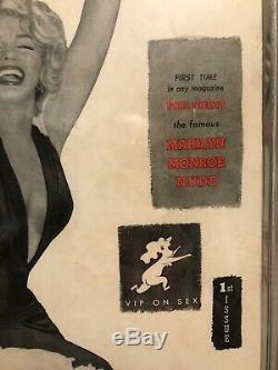 Playboy Numéro 1 Marilyn Monroe Cgc Graded 3.0 Owithw First Imprimer Magazine 1953