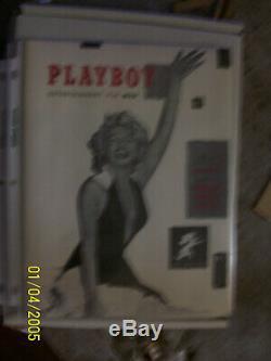 Playboy Premier Numéro Décembre 1953 Marilyn Monroe 1ère Édition Mint 2007 Réimpression