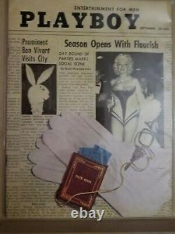 Playboy Septembre 1955 Very Good Condition Free Shipping Etats-unis