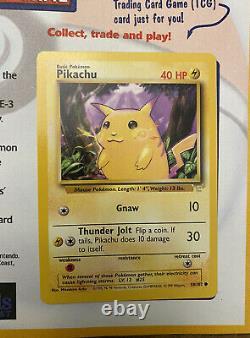 Pokémon E 3 Pikachu Nouveau Dans Le Magazine Nintendo Power Issue 124 Psa Nongraded E3