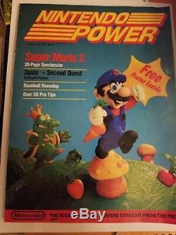 Premier Numéro Nintendo Pouvoir Vol. ? 1 Juillet / Août 1988 Super Mario 2, Aucune Affiche