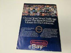 Premier Numéro Nintendo Pouvoir Vol. ? 1 Juillet / Août 1988 Super Mario 2 Zelda Affiche De Carte
