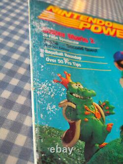 Première Édition De Nintendo Power Vol. 1er Juillet/août 1988 Super Mario 2 Pas D'affiche