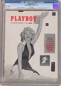 Première Édition / Numéro Playboy Magazine (1953), État Fn À Vf, Grade 7.0 De La Ccég