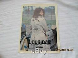 Première Édition Originale De 1977 Lowrider Magazine Reprint Numéro