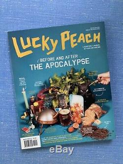 Pristine David Chang Alimentaire Lucky Magazine Collection Peach Questions 01-15