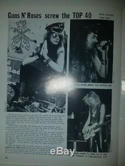 Propagande Magazine Goth Mode Musique # 12 The Cult, Peter Murphy, Guns N ' Roses