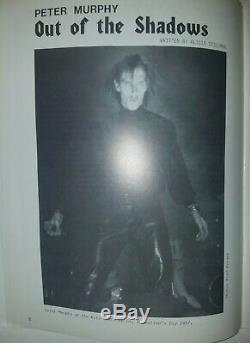 Propagande Magazine Goth Mode Musique # 9 Peter Murphy, Love & Rockets