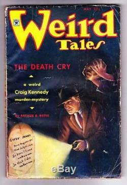 Pulp Weird Tales Mai 1935 Robert E. Howard Conan Beyond The Black River 1 Pt