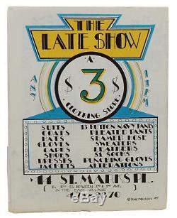 Punk Magazine Numéro 1 1976 De John Holmstrom Lou Reed Ramones De New York