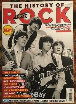 Rare Épuisé Histoire De Rock 1965 Numéro 1 De La Première Impression Beatles Dylan Mint