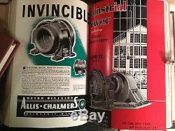 Rare Jazz Age Industrial Power Magazine Dans Plus De 9000 Pages De Hardbound 15 Vol.