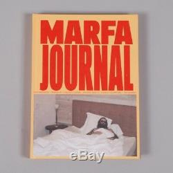 Rare Marfa Journal, Numéro Un, Erik Brunetti De Victor Saldana, 2013, Neuf