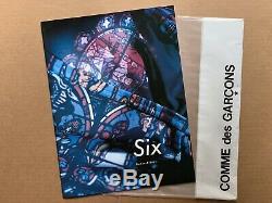 Rare! Nouveau! Comme Des Garcons Six Sixth Sense Numéro 7 1991 Magazine Rei Kawakubo