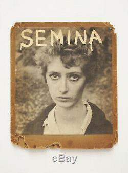 Rare Semina 4 1959 Poésie Art Magazine Wallace Berman William Burroughs Ginsberg
