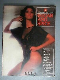 Rare Vintage 1976 Playboy Presses Boucliers De Sucre Et D'épice Brooke (dégâts D'eau)