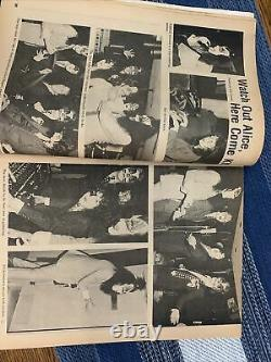 Rock Scene Magazine Septembre 1975 Kiss Cover- Nice