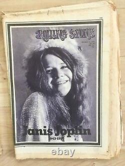 Rolling Stone Magazine 1970 Lot Vintage De 13 Numéros