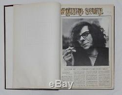 Rolling Stone Magazine # 3 Livre Relié Questions 31-45 Avril-novembre 1969 Woodstock