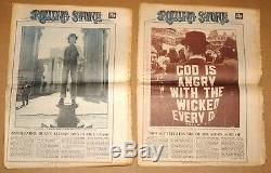 Rolling Stone Magazine # 95 # 96 Nov 1971 Chasseur Craintif Et Répugnant, S. Thompson
