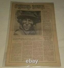 Rolling Stone Magazine Nov 9 1967 V. 1 Num. 1 John Lennon Not Réimpression Very Rare