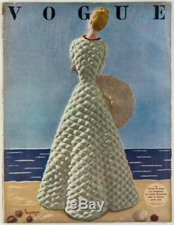 Schiaparelli Coat Georges Lepape Paris Magazine Français Vogue Août 1938