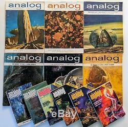Sciences Analog Fiction Dune Complete Set Herbert Vg + 1963 1964 1965 1976