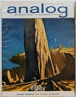 Sciences Analogiques Fiction / Galaxy Dune Complete Set Herbert Vg Beau Terrain