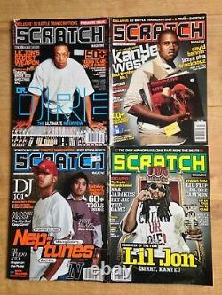 Scratch Hip Hop Production Magazine Numéro 1-19 2004-2007