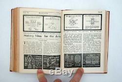 Sel Magazine Ww2 Australian Army Education Service. Set Bound Rare Numéro 1