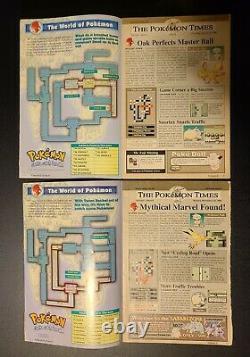 Set Pokemon (nintendo) Power Magazine Collectors Série Volumes 1 2 3 4 5 6