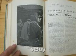 Sherlock Holmes 1ère Édition Strand Magazine Vol XXII Chien Des Baskerville
