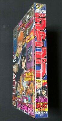 Shonen Jump Hebdomadaire 2001 No. 36-37 Bleach Nouveau Numéro De Série Rare