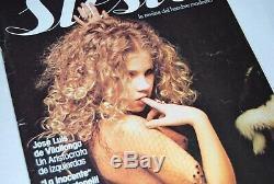 Siesta Nº 2 Magazine Espagnol Eva Ionesco Irina Very Rare 1976
