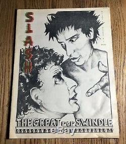 Slash Magazine Rare Run Complet! Avec Extras 1977-1980 La Punk Rock Lp Musique