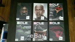 Sole Collector Magazine 91 Lot Numéro Coups De Pied Nike Yeezy Jordan Adidas De Cadavres D'animaux