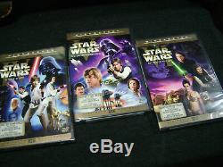 Star Wars Limitee Édition Théâtrale 2006- 6 DVD + Bonus Magazine Hans Premier Plan