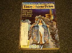 Stephen King Gunslinger Dans Le Magazine Complet D'imagination Et De Science-fiction Ensemble Complet