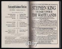 Stephen King Signé Limited Edition (1990) Imagination & La Science Fiction Magazine