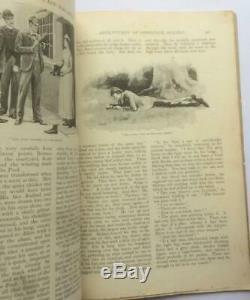 Strand Magazine Octobre 1891 Single Issue Sherlock Holmes A Conan Doyle