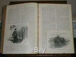 Strand Magazine Sherlock Holmes 1er Ed Jan Juin 1893 Vol 5 Superbe Delux Ed