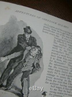 Strand Magazine Volume II 1891 Premier Aventures De Sherlock Holmes